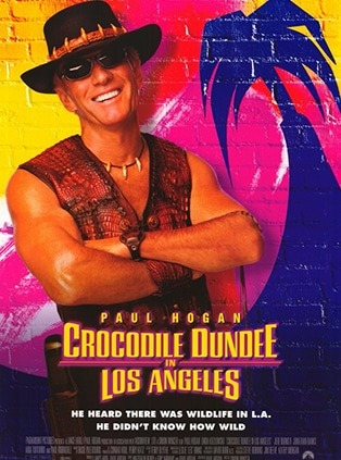 Crocodile Dundee i Los Angeles Dvd film