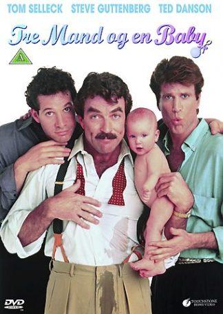 Tre mand og en baby dvd