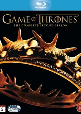 Game of Thrones Sæson 2 (5 Disc) Blu-ray
