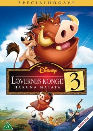 Løvernes Konge 3 Dvd