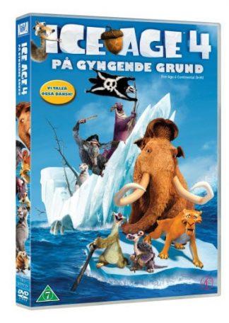 Ice Age 4 - På Gyngende Grund Dvd