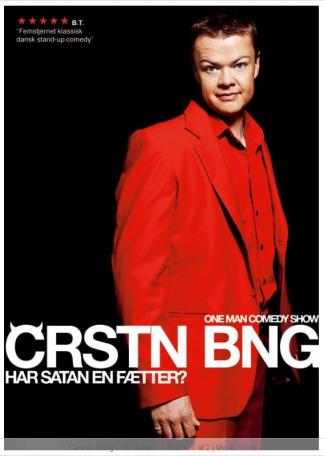 Carsten Bang - Har satan en Fætter? Dvd
