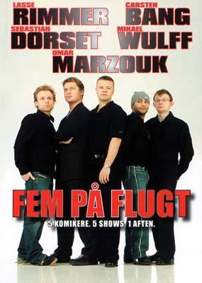 Fem På Flugt - Comedy Show