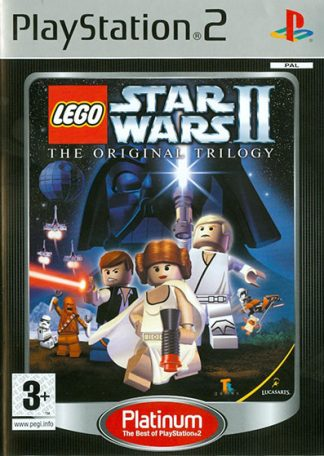LEGO Star Wars II The Original Trilogy PS2 platinum