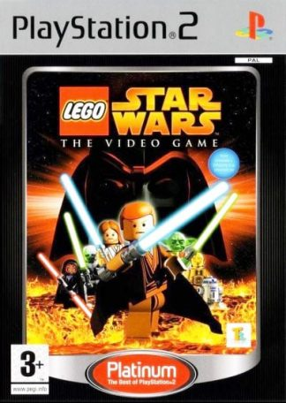LEGO Star Wars The Video Game (platinum) PS2