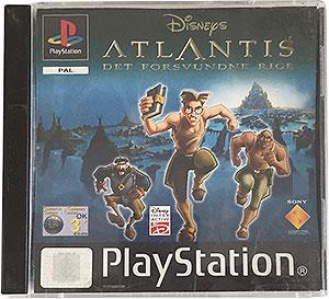 Disneys Atlantis Det Forsvundne Rige PS1