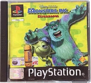 Monsters Inc. Skræmmeøen (u. man) PS1