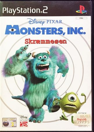 Monsters Inc. Skræmmeøen PS2