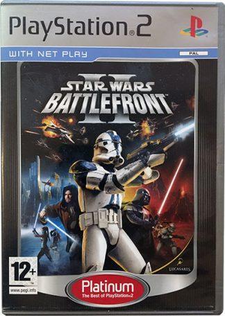 Star Wars Battlefront II platinum PS2
