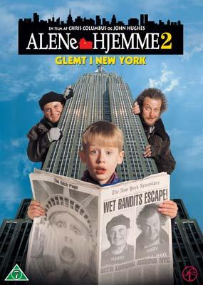 Alene Hjemme 2 Dvd