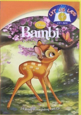 Bambi - Lyt og Læs (bog+cd) Disney (UDEN bog)