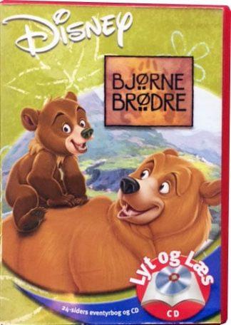 Bjørne Brødre - Lyt og Læs (bog+cd) Disney