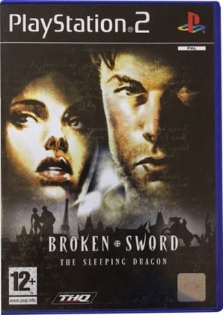 Broken Sword The Sleeping Dragon PS2 Spil