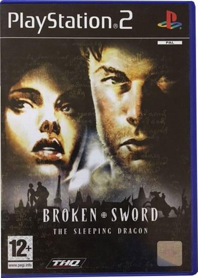Broken Sword The Sleeping Dragon PS2 Spil