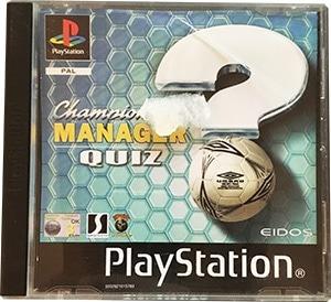 Championship Manager Quiz Brugt PS1 Spil