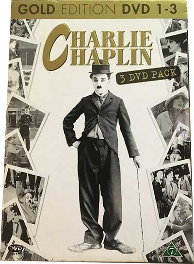 Charlie Chaplin Gold Edition DVD 1-3 DVD-boks
