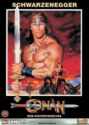 Conan den Uovervindelige Dvd