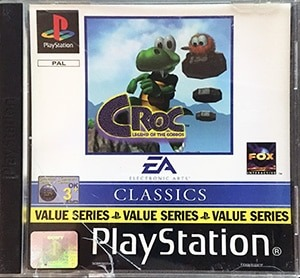 Croc Legend of the Gobbos PS1 spil