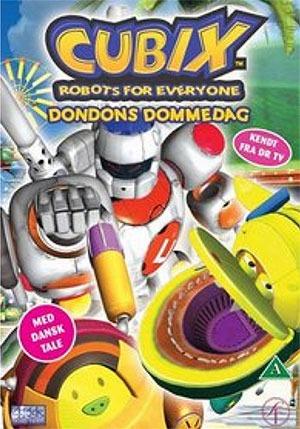 Cubix - Dondons Dommedag episode 4-6 (dansk tale) Dvd