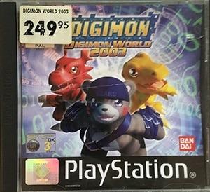 Digimon World 2003 PS1 Spil