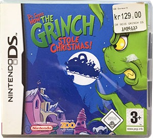 Dr. Seuss How the Grinch Stole Christmas Nintendo DS