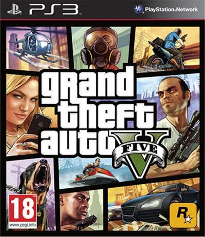 Grand Theft Auto V (GTA 5) ps3