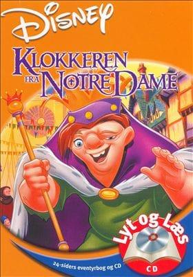 Klokkeren fra Notre Dame - Lyt og Læs (bog+cd) Disney