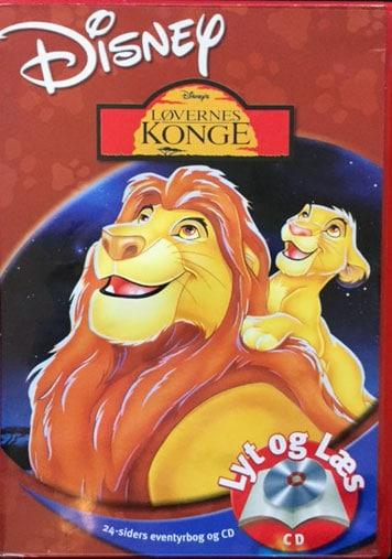 Løvernes Konge - Lyt og Læs (CD - bog mangler) Disney
