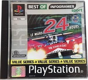 Le Mans 24 Hours PS1 spil