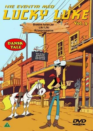 Lucky Luke 3 Dvd