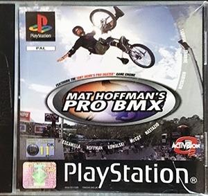 Mat Hoffman's Pro BMX PS1 spil