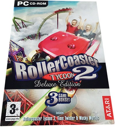 Roller Coaster Tycoon Deluxe Edition PC