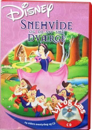 Snehvide og de syv små Dværge - Lyt og Læs (bog+cd) Disney