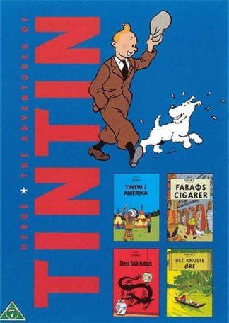 Tintin 1-4 Dvd