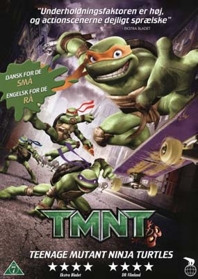 Tmnt - Teenage Mutant Ninja Turtles Dvd