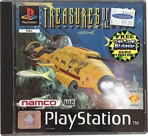 Treasures of the Deep PS1 Spil