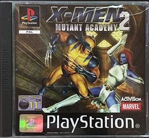X-Men 2 Mutant Academy PS1