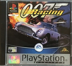 007 Racing PS1 Spil