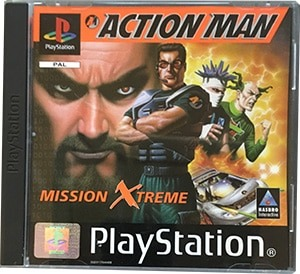 Action Man PS1 Spil