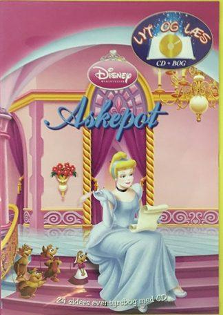 Askepot - Lyt og Læs (bog+cd) Disney