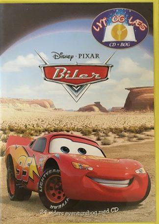 Biler - Lyt og Læs (bog+cd) Disney