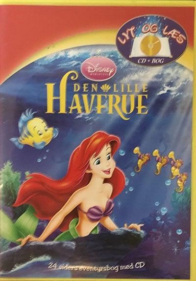 Den Lille Havfrue - Lyt og Læs (bog+cd) Disney