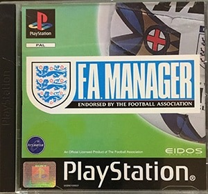 F.A. Manager PS1 Spil