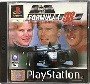 Formula 1 98 PS1 Spil