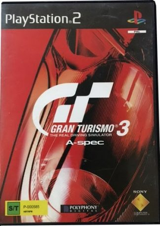 Gran turismo 3 A-Spec PS2 Spil