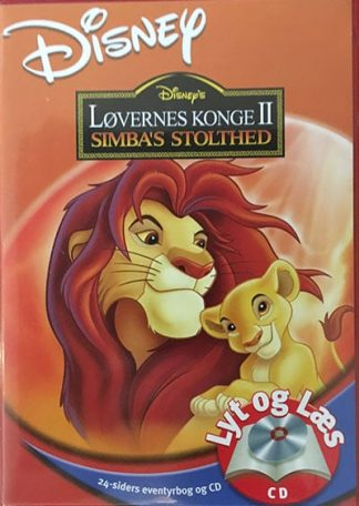 Løvernes Konge II Simba's Stolthed - Lyt og Læs (bog+cd) Disney