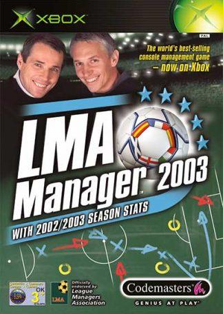 LMA Manager 2003 XBOX