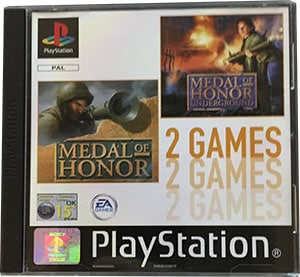 Medal of Honor + Medal of Honor Underground PS1