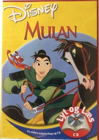 Mulan - Lyt og Læs (bog+cd) Disney