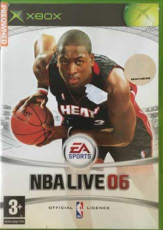 NBA Live 06 XBOX spil